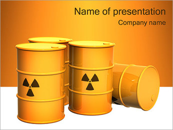 Nuclear Waste PowerPoint Template