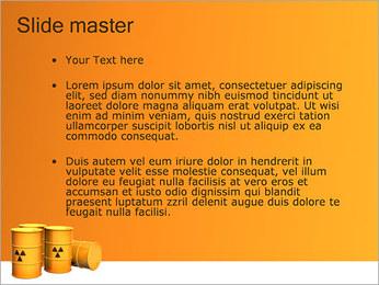 Déchets nucléaires Modèles des présentations  PowerPoint - Diapositives 2