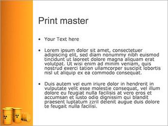 Déchets nucléaires Modèles des présentations  PowerPoint - Diapositives 24