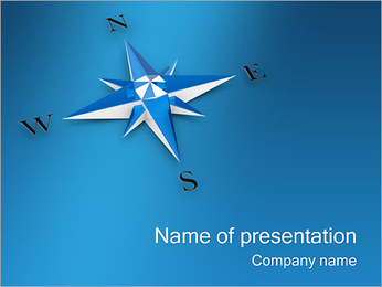 Compass PowerPoint Template