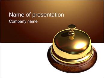 Recepcja Szablony prezentacji PowerPoint