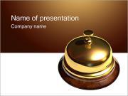 Reception Desk PowerPoint Templates