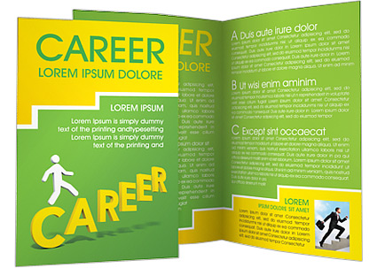 Successful career brochure template design id 0000000613 successful career brochure template maxwellsz