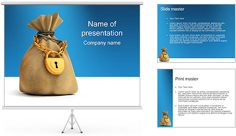 Banking PowerPoint Template & Backgrounds ID 0000000615 ...