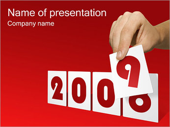 End Year PowerPoint Template