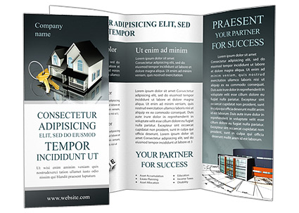 Real Estate Property Brochure Template Design Id 0000000617