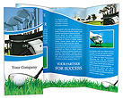 Golf Ball Brochure Templates