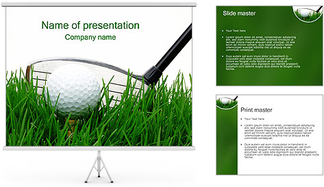 powerpoint templates free download golf gallery powerpoint