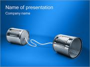 Cans Communication PowerPoint Templates
