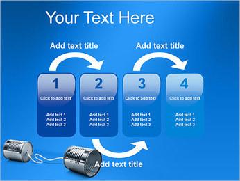 Latas de Comunicación Plantillas de Presentaciones PowerPoint - Diapositiva 11