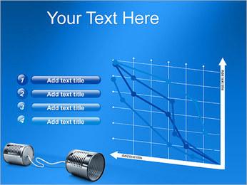 Latas de Comunicación Plantillas de Presentaciones PowerPoint - Diapositiva 13