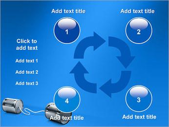 Latas de Comunicación Plantillas de Presentaciones PowerPoint - Diapositiva 14