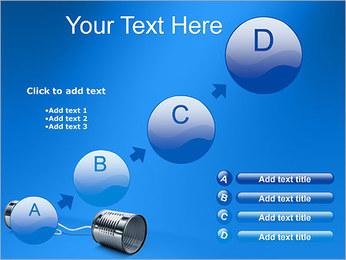 Latas de Comunicación Plantillas de Presentaciones PowerPoint - Diapositiva 15