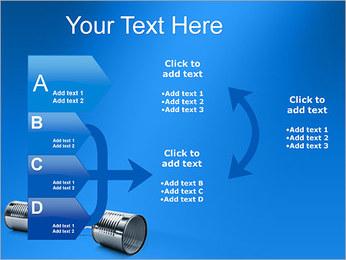 Latas de Comunicación Plantillas de Presentaciones PowerPoint - Diapositiva 16