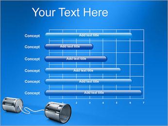 Latas de Comunicación Plantillas de Presentaciones PowerPoint - Diapositiva 17