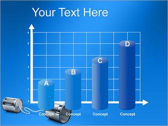 Latas de Comunicación Plantillas de Presentaciones PowerPoint - Diapositiva 21