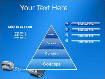 Latas de Comunicación Plantillas de Presentaciones PowerPoint - Diapositiva 22