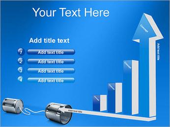Latas de Comunicación Plantillas de Presentaciones PowerPoint - Diapositiva 6
