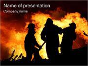 Firemen PowerPoint Templates