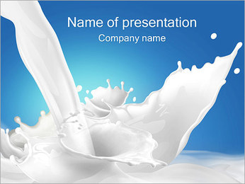 Milk PowerPoint Template