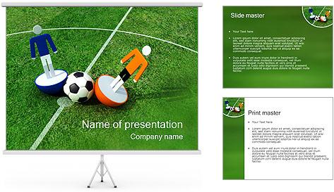 Futebol Modelos de apresentações PowerPoint