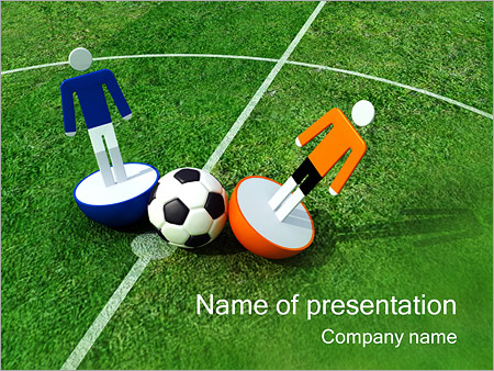 football powerpoint template & backgrounds id 0000000627, Modern powerpoint