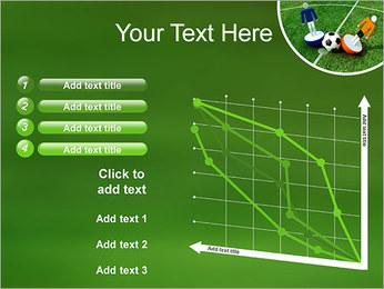 Futebol Modelos de apresentações PowerPoint - Slide 13