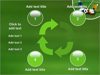 Futebol Modelos de apresentações PowerPoint - Slide 14