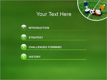 Futebol Modelos de apresentações PowerPoint - Slide 3