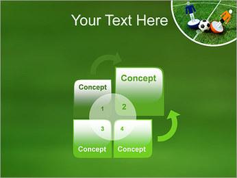Futebol Modelos de apresentações PowerPoint - Slide 5