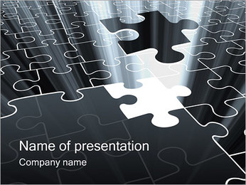 Last Puzzle Pieces PowerPoint Template