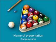 Billiard Gaming PowerPoint Templates