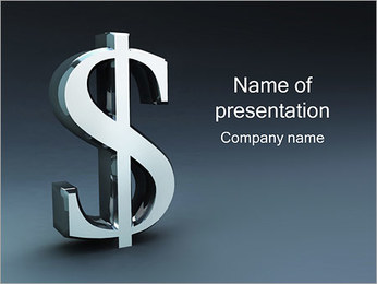 Dollar Rate PowerPoint Template