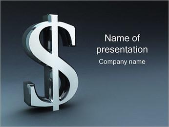 Dólar Cambio Plantillas de Presentaciones PowerPoint