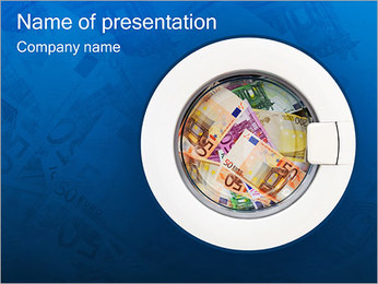 Money Laundering PowerPoint Template