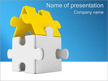 ホームパズル PowerPointプレゼンテーションのテンプレート