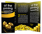 Golden Egg Brochure Template