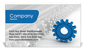 Be the First Business Card Template