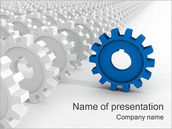 Be the First PowerPoint Template