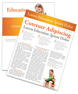 education newsletter templates designs for download