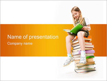 Learning PowerPoint Template - Slide 1