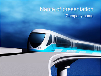 Train PowerPoint Template