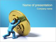 ドル PowerPointプレゼンテーションのテンプレート
