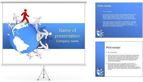 Torcer el Mundo Plantillas de Presentaciones PowerPoint