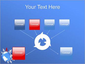 Torcendo o mundo Modelos de apresentações PowerPoint - Slide 10