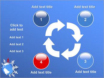 Torcendo o mundo Modelos de apresentações PowerPoint - Slide 14