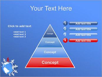 Torcendo o mundo Modelos de apresentações PowerPoint - Slide 22