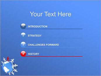Torcendo o mundo Modelos de apresentações PowerPoint - Slide 3