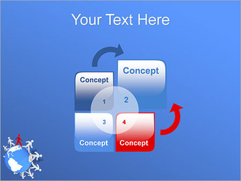 Torcendo o mundo Modelos de apresentações PowerPoint - Slide 5