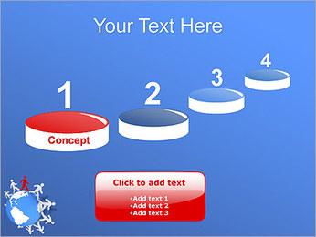 Torcendo o mundo Modelos de apresentações PowerPoint - Slide 7